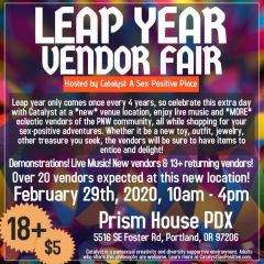 Catalyst Leap Year Vendor Fair