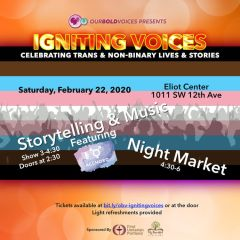 Our Bold Voices Presents: Igniting Voices