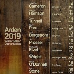 Winemaker Dinner Series at Arden
