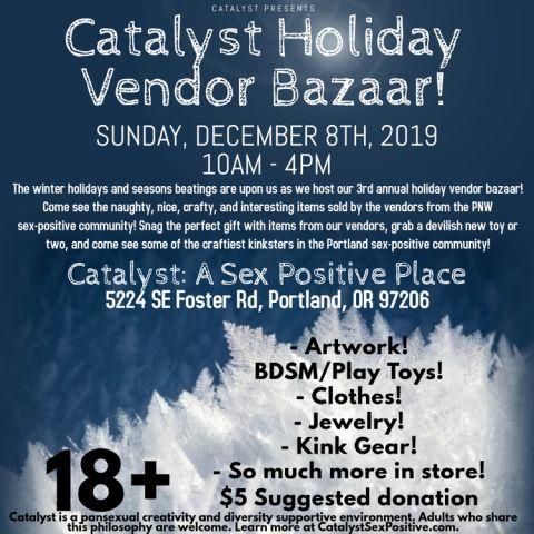 Catalyst Holiday Vendor Bazaar