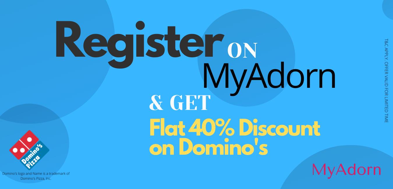 Register & Win on MyAdorn.