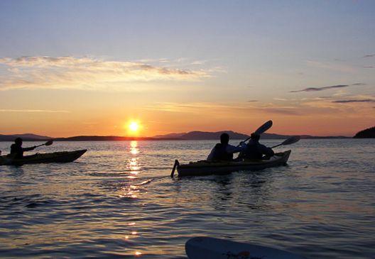 Family Sunset Kayak Tours