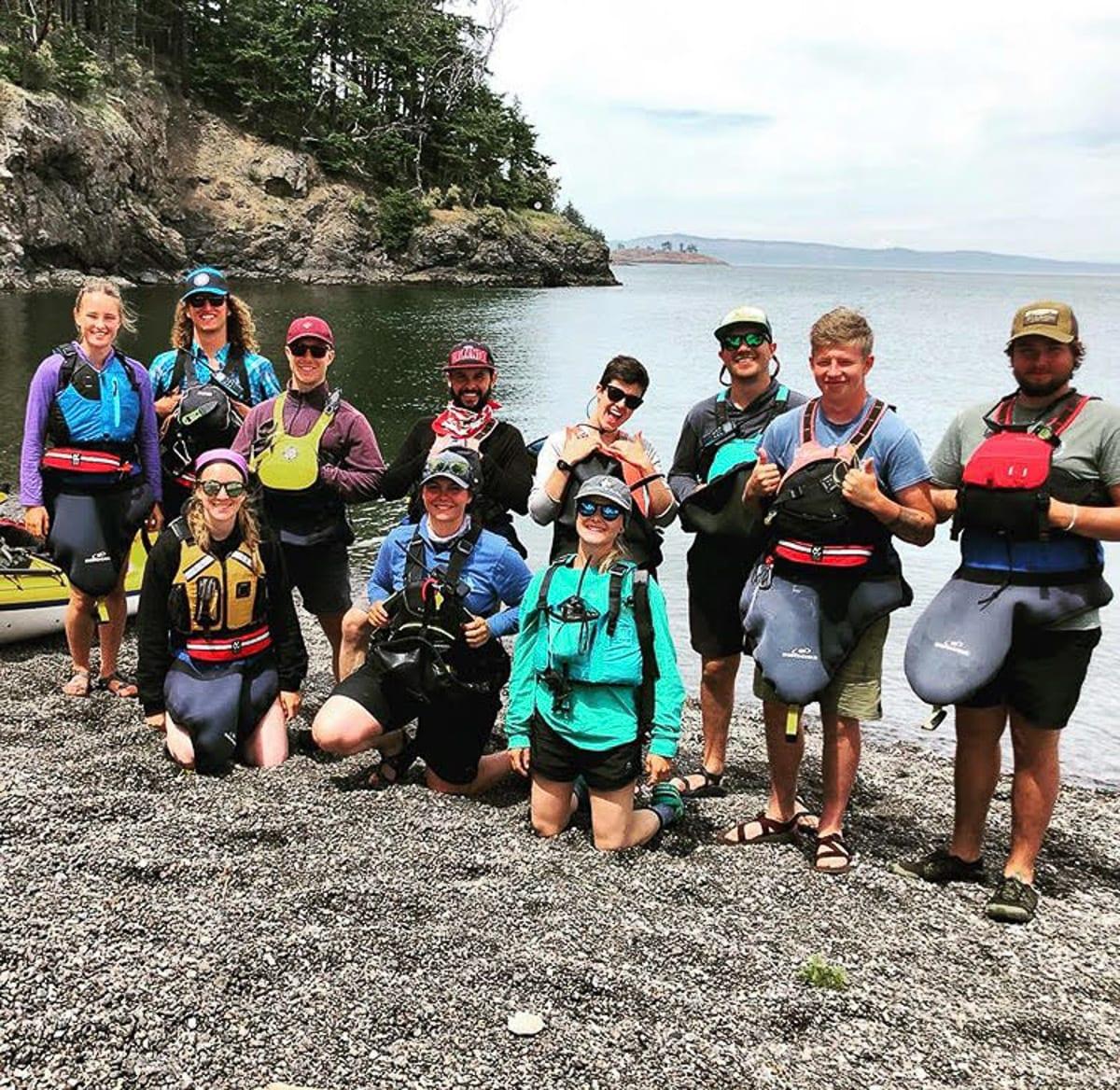 The Crystal Seas Kayaking Team