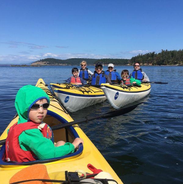 Family Kayak Camping Tours