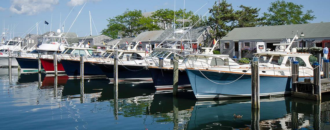 Nantucket Boat Basin of Massachusetts