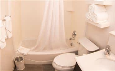 Allentown Park Hotel Amenities - Bathroom