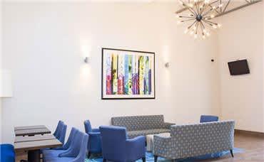 Allentown Park Hotel Amenities - Guest Social Zone
