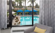 crowne plaza costa mesa orange county pool view