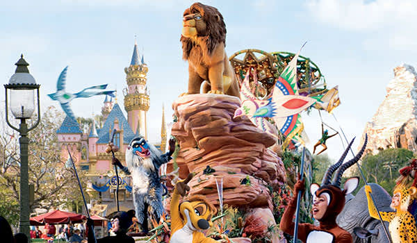 Costa Mesa Disneyland, California