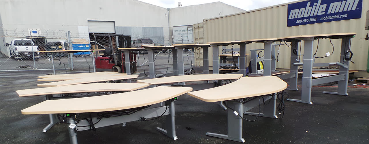 Cubicle Resources Desk at Santa Clara
