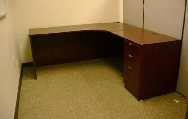 L-Shaped Desks at Cubicle Resources, California