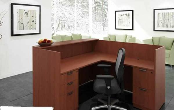 Reception-Desks at Cubicle Resources, California