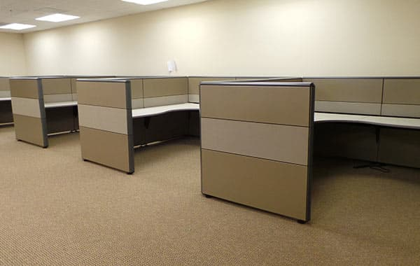 Cubicle Reconfiguration at Cubicle Resources, California