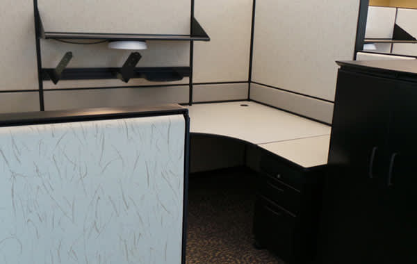 Used Office Furniture & Cubicles at Cubicle Resources, California