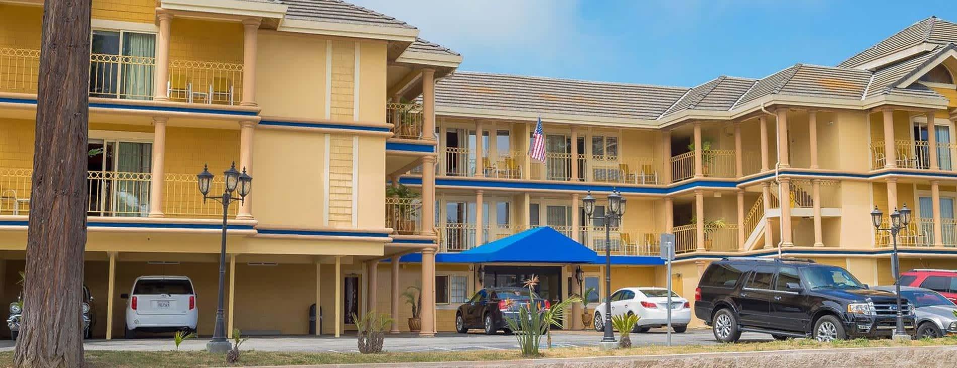 Hotel Solares Riverside Avenue Santa Cruz California Service Main Image
