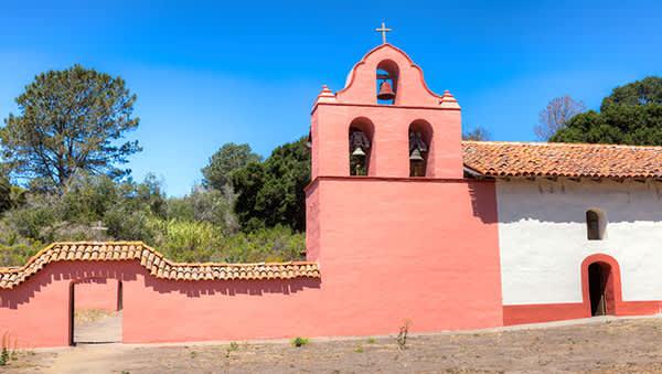 La Purisima Mission State Historic Park in Lompoc