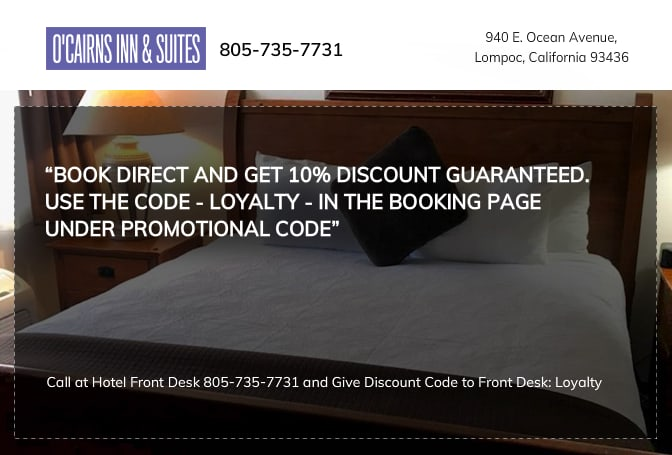 Book Direct And Get 10% Discount.
