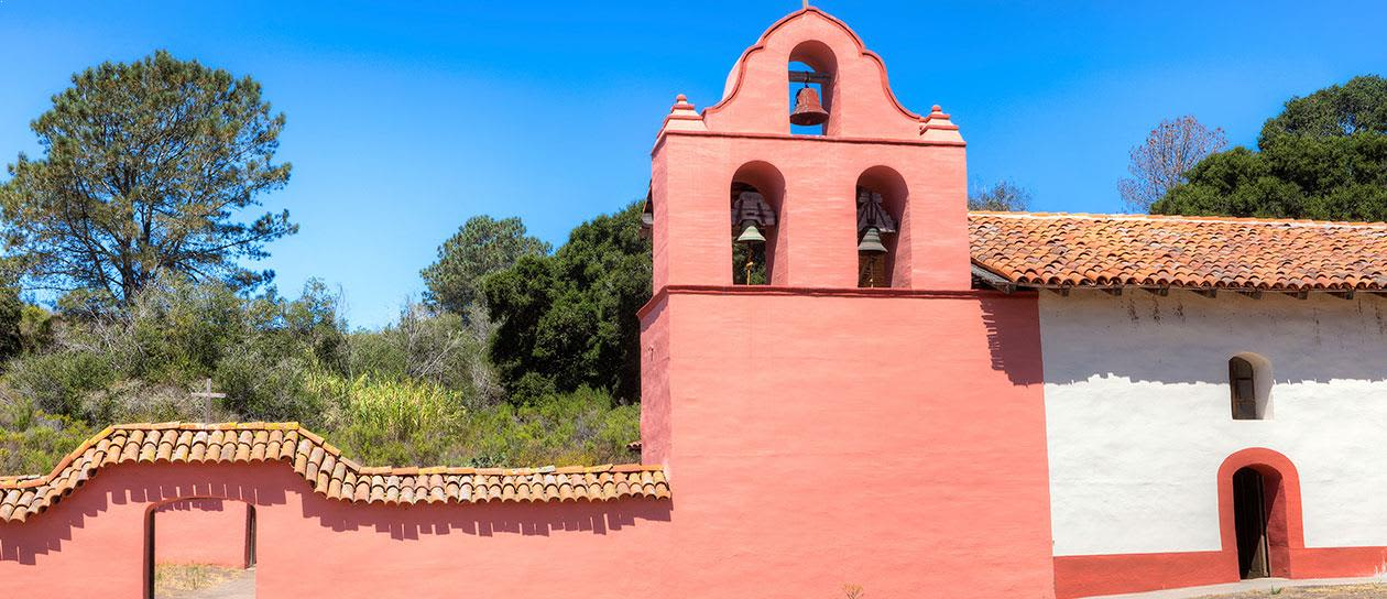 La Purisima Mission State Historic Park in Lompoc