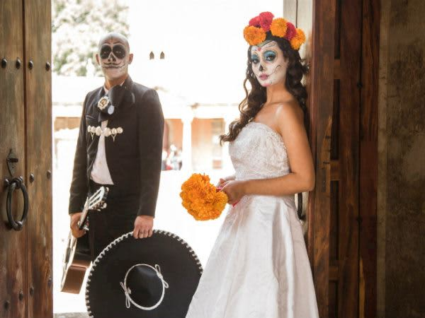 Day Of The Dead 5 Ideas For Your Mexican Wedding Reception