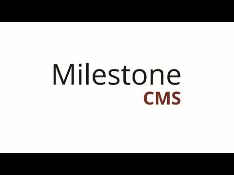 Product Demo Video: Milestone CMS