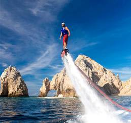 What I can do in Los Cabos in December - Flyboarding