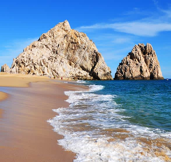 Los Cabos Lover's Beach (Playa del amor)