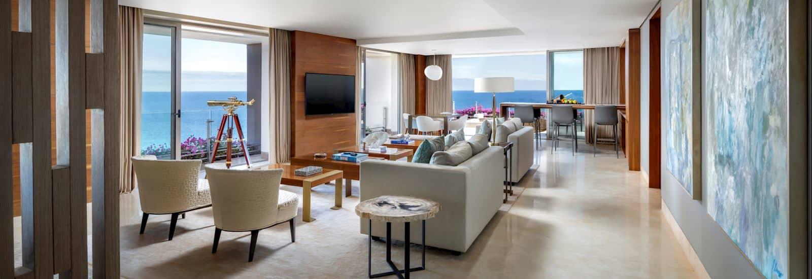 Royal Suite Ocean Front View at Grand Velas Los Cabos