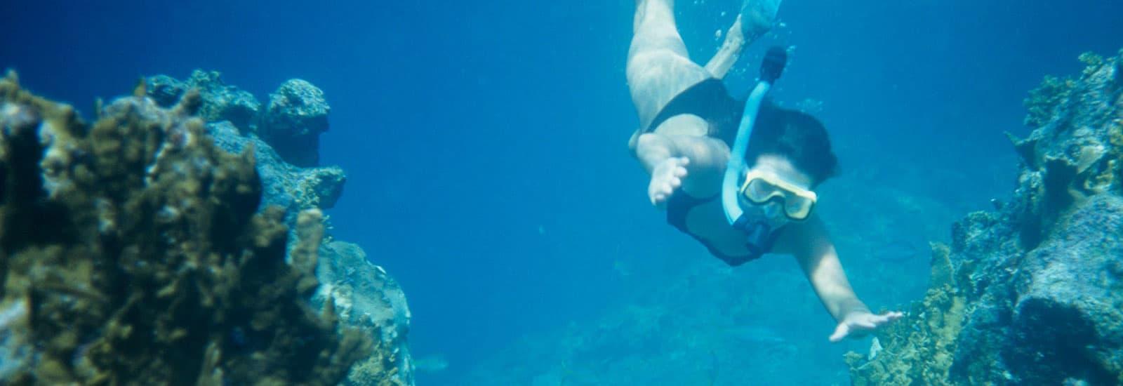 Snorkeling at Cabo Pulmo of Mexico