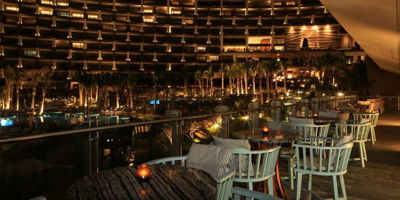 Sky bar en Grand Velas Los Cabos