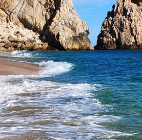Playa del Amor en Los Cabos