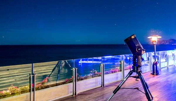 Paquete Observación Astronómica para Dos en Los Cabos