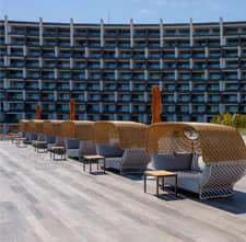 Terraza frente al Mar en Hotel Los Cabos