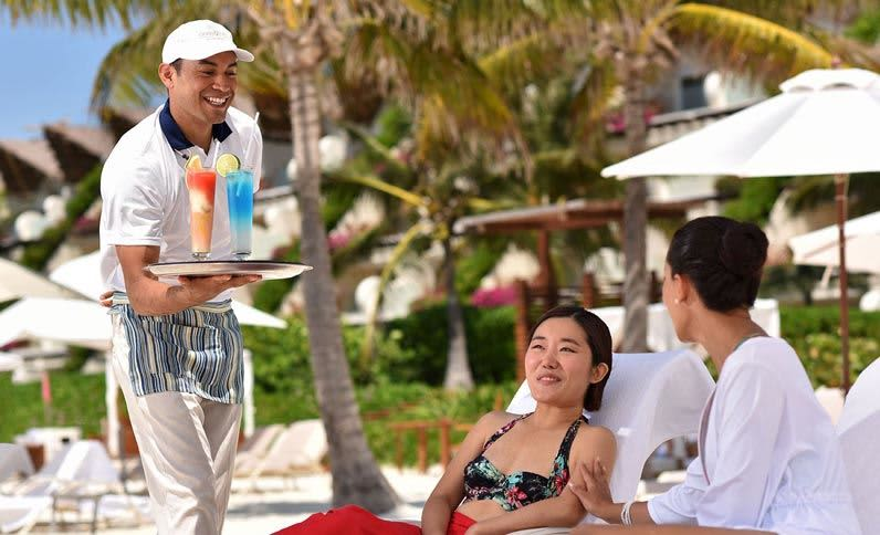 Grand Velas Riviera Maya - Servicios de playa