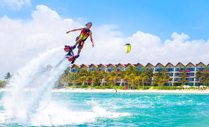 Riviera Maya Resort Activities - Flyboard