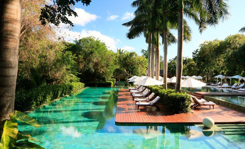 Grand Velas Riviera Maya - Piscina Ambiente Zen Grand