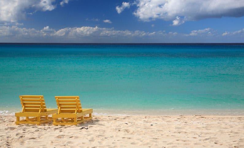 Playa en Cozumel