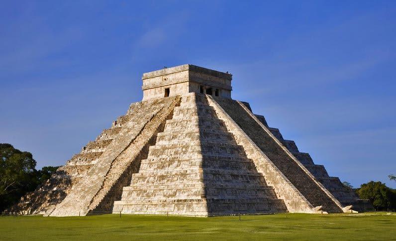 Pirámide de Chichen-Itza