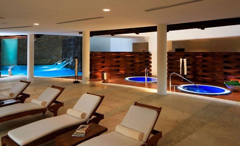 Grand Velas Riviera Maya Spa - Área de Hidroterapia