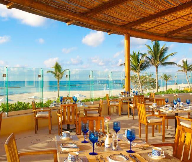 Restaurante Azul en Grand Velas Riviera Maya, Cocina internacional