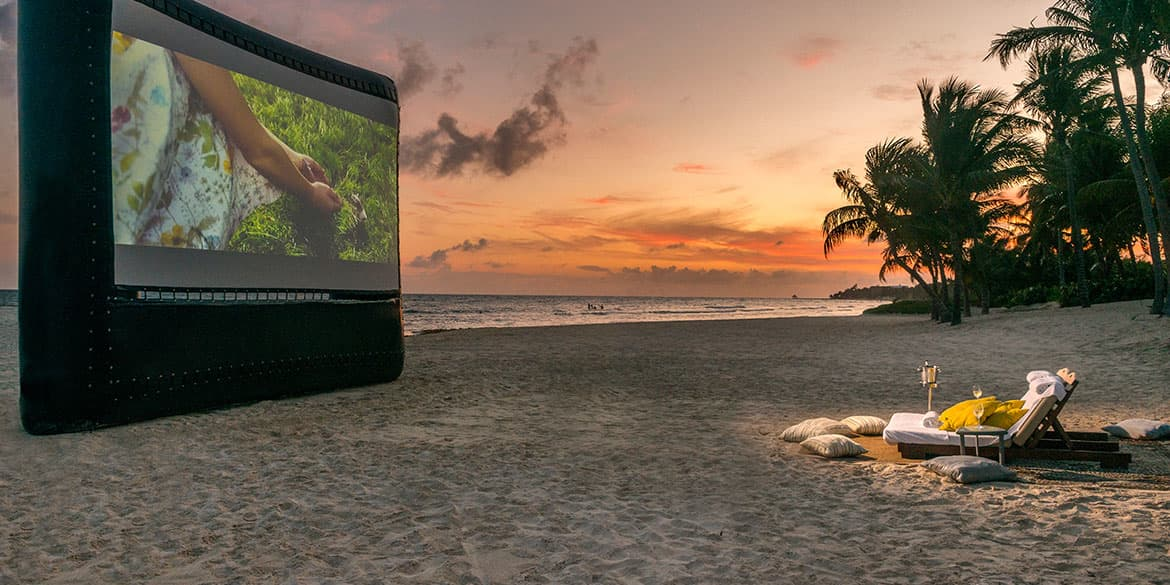 Enjoy Movies By Starlight in Grand Velas Riviera Maya