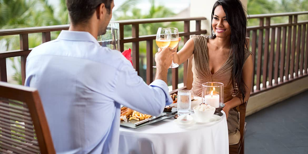 Have a Romantic Dinner at Riviera Maya Resort