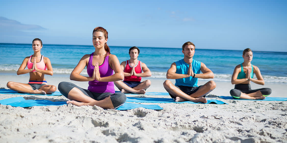 Yoga Classes available in Grand Velas Riviera Maya