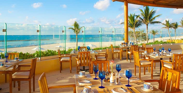 Grand Velas Riviera Maya - Restaurante Azul