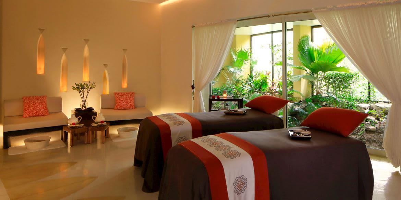 Instalaciones de Spa Grand Velas Riviera Maya