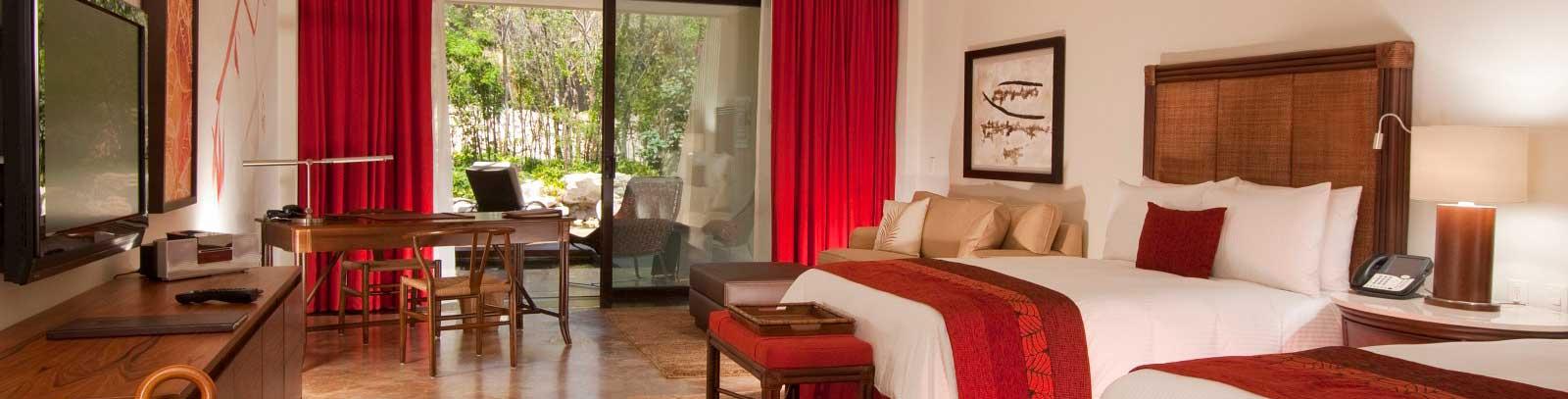 Grand Velas Riviera Maya Suite Familiar de 2 Recámaras con Vista a la Naturaleza