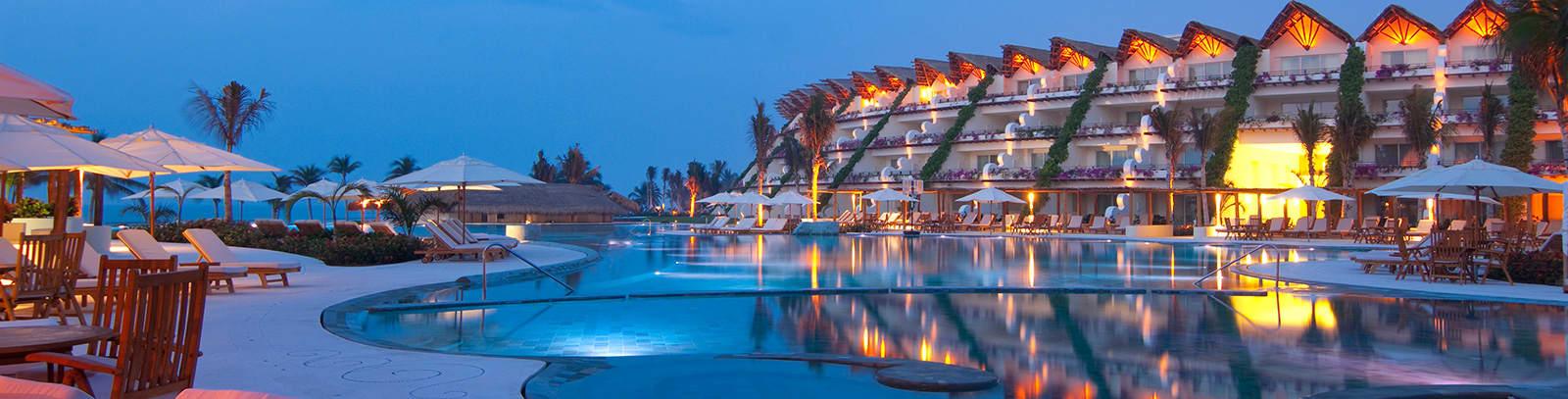 Ubicación de Grand Velas Riviera Maya, México