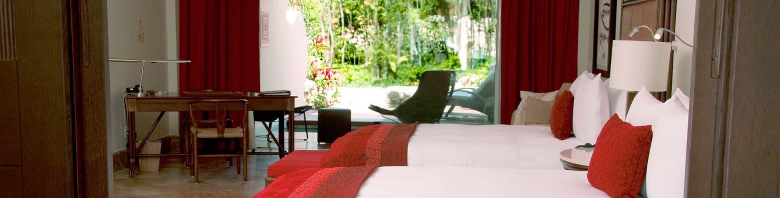 Grand Velas Riviera Maya Suite Zen Grand Pool con Vista a la Naturaleza