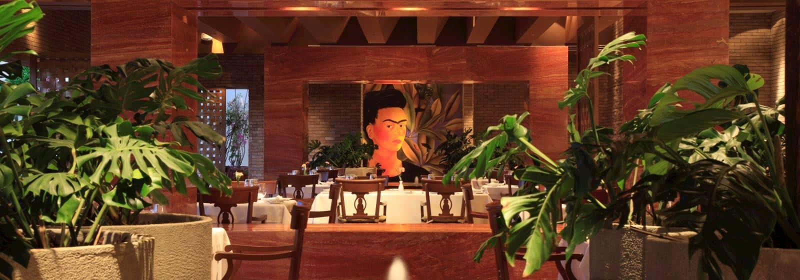 Alta Cocina Mexicana en el Restaurante Frida de Grand Velas Riviera Maya