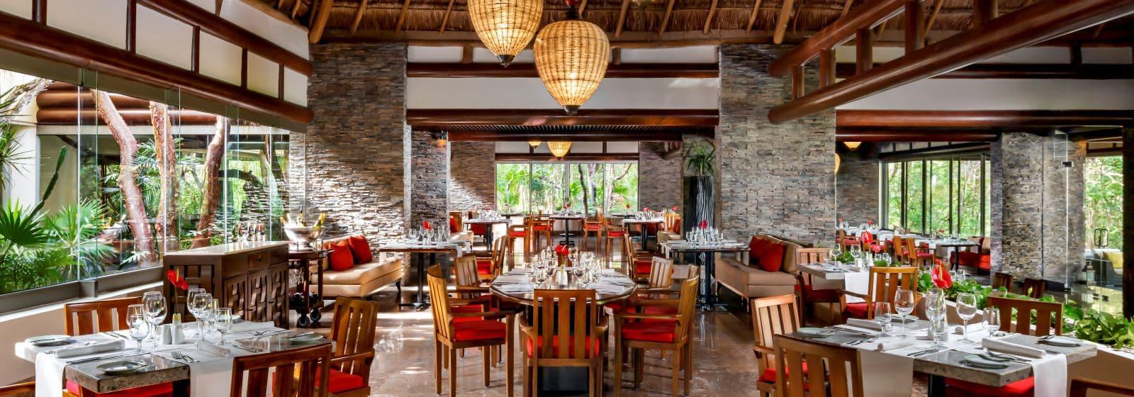 Restaurante Chaká en Grand Velas Riviera Maya