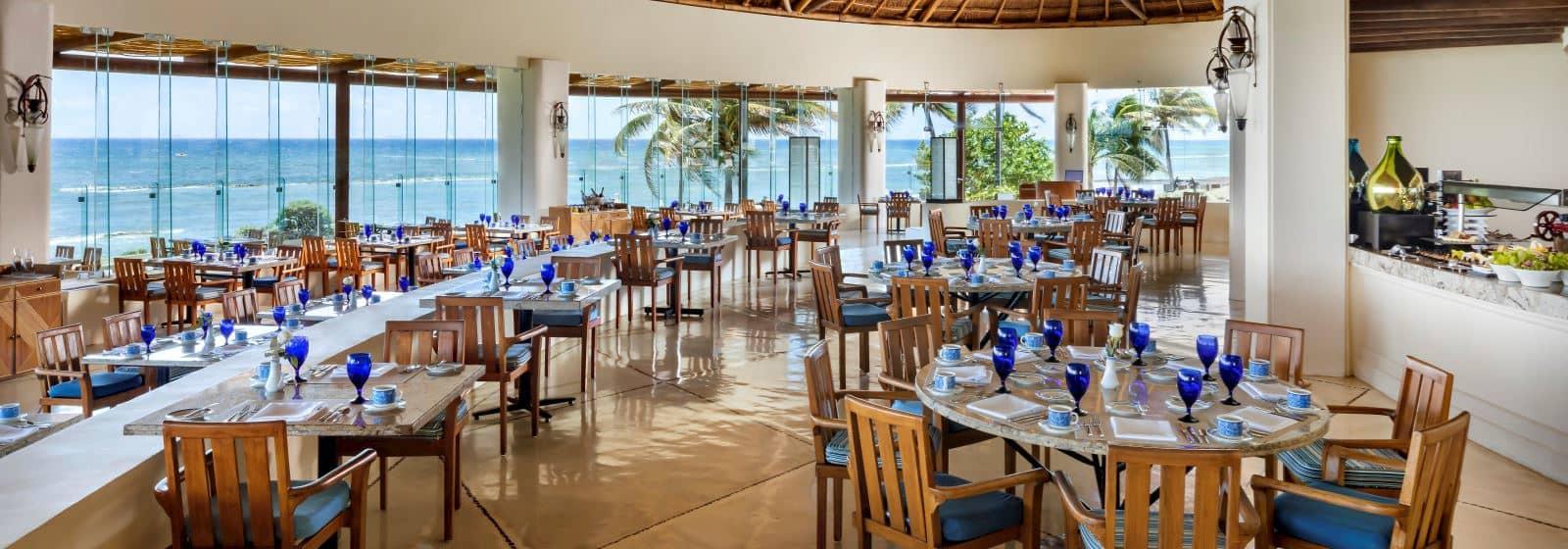 Restaurante Azul en Grand Velas Riviera Maya